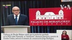Gobierno de Venezuela denuncia injerencia y presión de EE.UU.