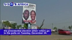 VOA60 Africa - Liberia: Former soccer star George Weah is confident of winning the presidential election