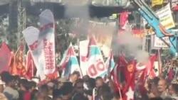 土耳其抗议者周一与警察再起冲突