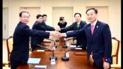 2015-09-08 美國之音視頻新聞:兩韓同意恢復舉行韓戰離散家庭團聚活動