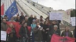 Protestë në mbrojtje të lumenjve Radika dhe Vjosa