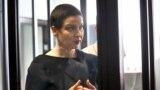 Мария Колесникова на процессе (архивное фото)