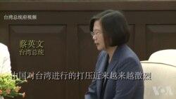 台湾总统蔡英文批评中国散布假消息