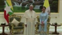 教宗呼吁缅甸尊重权利与正义