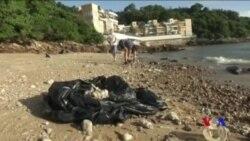 中國貨船碰撞漏油致香港關閉多處海灘