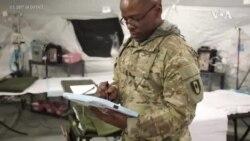 美軍派出醫療隊前往疫情嚴重地區