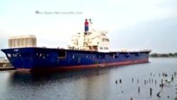 US Ship Wreckage
