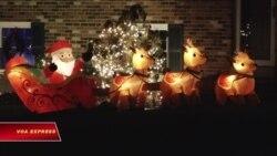 Những căn nhà ở Mỹ dịp Giáng sinh