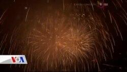Amerika 4 Temmuz Bağımsızlık Günü'nü Kutluyor