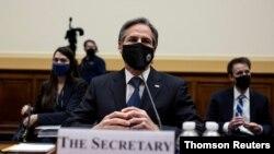 وزیر خارجه آمریکا در جلسه کمیته امور خارجی کنگره