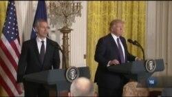 Прес-конференція Трампа і Столтенберґа: головні цитати. Відео
