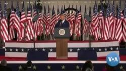 'ทรัมป์' ประกาศพร้อมเป็นผู้นำสหรัฐฯต่ออีกสมัย หลังรับเป็นผู้แทนริพับลิกันชิงเลือกตั้ง 2020