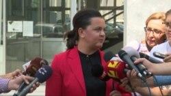 Фросина Ременски два часа на распит во Јавното обвинителство
