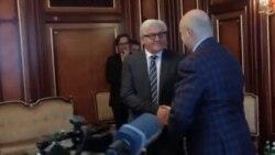 گفتگوی رهبران اوکراین با اتحادیه اروپا