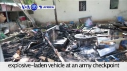 VOA60 Africa - Somalia Suicide Bomber Strikes Capital; 3 Injured