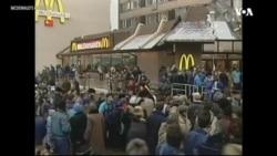 Rusiyada ilk McDonalds-ın açılışından 30 il keçir