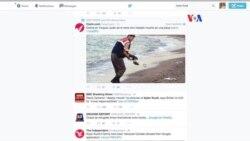 Impactante imagen brinda atención internacional a la migración en el mediterráneo