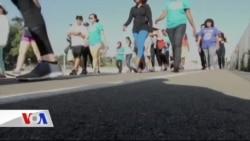 California'da Mülteciler İçin Yürüdüler