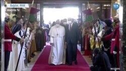 Papa Francis Irak'ta