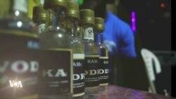 De la Vodka fabriquée localement au Libéria