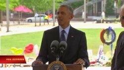 Tổng thống Obama an ủi các nạn nhân vụ tấn công ở Orlando