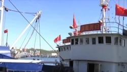 被朝鲜扣押的中国渔民获释