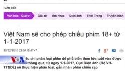 Phim cấm được phép chiếu rạp ở Việt Nam