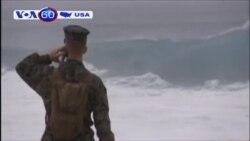 Mỹ tiếp tục tìm kiếm binh sĩ sau vụ va chạm trực thăng (VOA60)