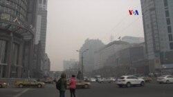 Alerta roja en Beijing