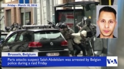 Paris Attacks Suspect Captured Alive in Belgian Raid