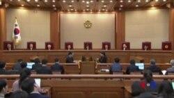 朴槿惠背信於民 遭憲法法院罷免 (粵語)