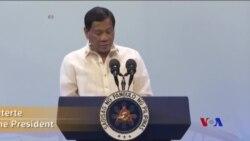 菲律賓總統呼籲東盟國家合作反毒 (粵語)