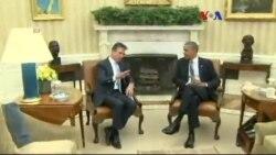 Obama Rasmussen'le Krizleri Görüştü