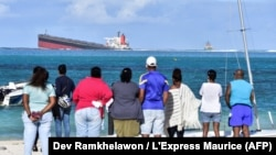 MAURITIUS Shipwreck Wakashio - Hazardous waste leak - ENVIRONMENT-POLLUTION-SHIPPING - Ile Maurice