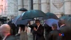 2016-03-21 美國之音視頻新聞: 奧巴馬開始對古巴進行歷史性訪問