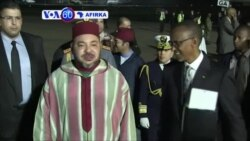VOA60 AFIRKA: RWANDA Sarkin Morocco Mohammadu Na Shida Ya Isa Rwanda