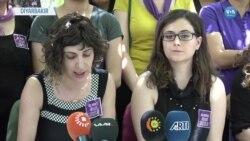 Kadınlardan Şiddete Karşı Mor Eylem