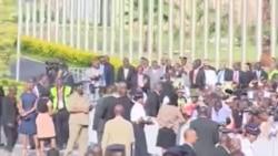 Umushumba wa Kiliziya Gatolika, Papa Francis yageze I Nairobi muri Kenya
