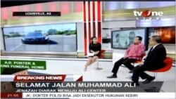 Laporan Langsung VOA untuk TV One: Selamat Jalan Muhammad Ali (2)