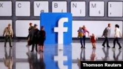 Logo 3D Facebook.