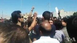 از سرگیری اعتراضات در کازرون به تقسیمات شهری