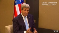 Kerry Comments on Syria Talks