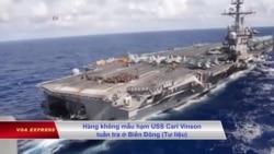 Mỹ chưa cho hải quân tuần tra gần đảo nhân tạo ở Biển Đông