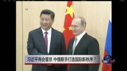 时事大家谈:习近平再会普京 中俄联手打造国际新秩序?