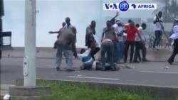 Manchetes Africanas 20 Setembro 2016: Protestos estudantis na África do Sul, Kinshasa e os protestos