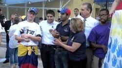 Concentración de estudiantes venezolanos en la FIU Miami