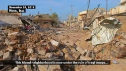Snipers, Human Shields Hinder Iraqi Advances on Mosul