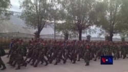 Chinese Armed Forces Tightens Security During Shoton Festival in Lhasa