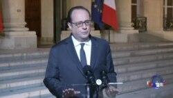 法国选民星期天在严密保安下投票