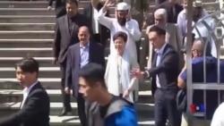 港警藍色水砲擊中九龍清真寺 各界震驚特首警務處長急道歉